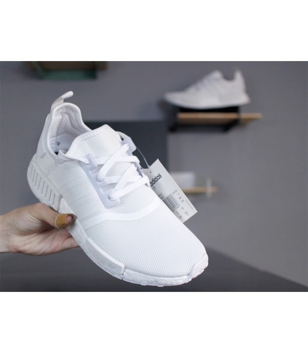 NMD R1 Full White