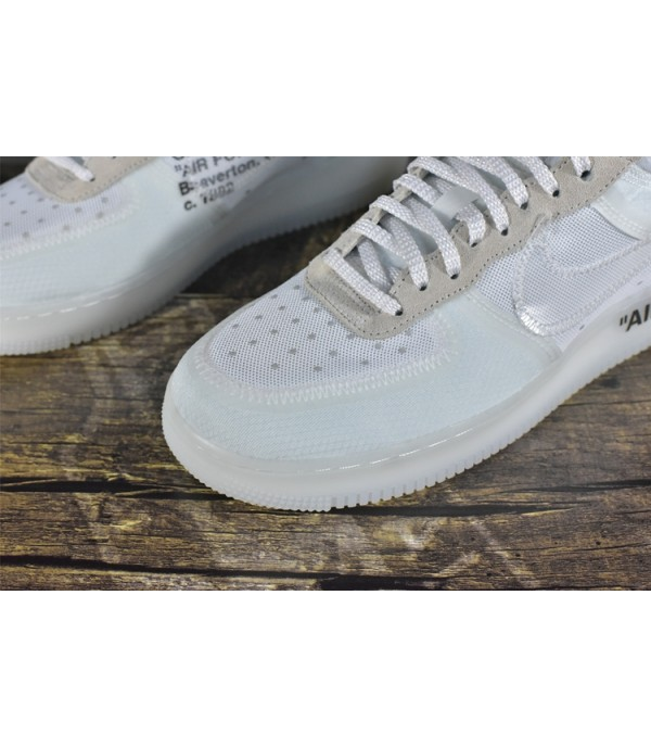 PK Air Force 1 Low Off-White White