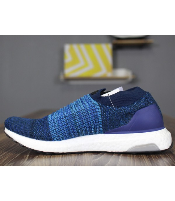 Ultra Boost 5.0 Uncaged Laceless Low Blue White